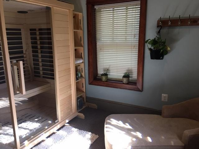 Page Wellness Center new infrared sauna