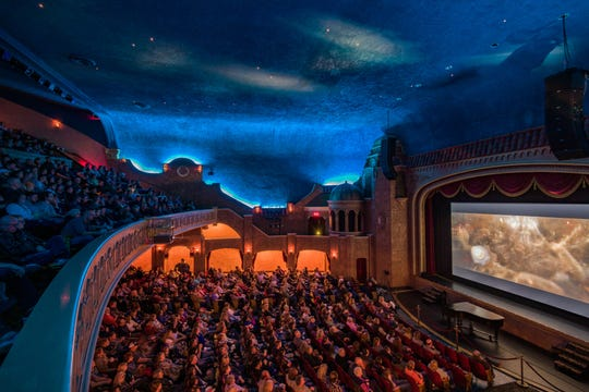 """The Paramount Theatre was close to full capacity for this year's special showing of """"Bohemian Rhapsody"""" on Academy Awards weekend. Classic and special film showing are just part of the yearly lineup of entertainment at the 89-year-old Abilene theater."""