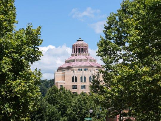 Asheville's City Hall.