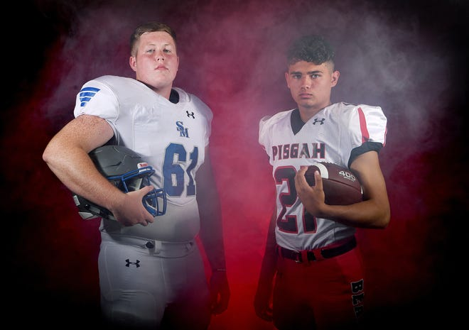 Smoky Mountain's Clayton Frady and Pisgah's Keegan Hudson are returning seniors in the 2019 NCHSAA Mountain Six conference.
