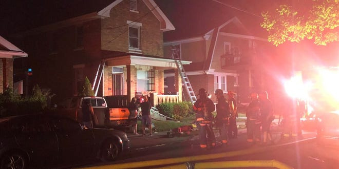 One man is dead after a house fire in Reading Wednesday.
