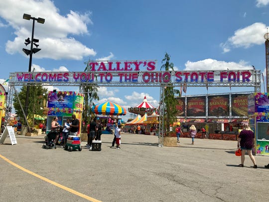 Talley Amusements will operate rides for the first time this year at the Ohio State Fair.