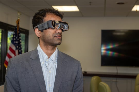 Local Princeton company ThirdEyeGen bring Silicon Valley to the West Coast and New Jersey the world's smallest Mixed Reality glasses, the X2.