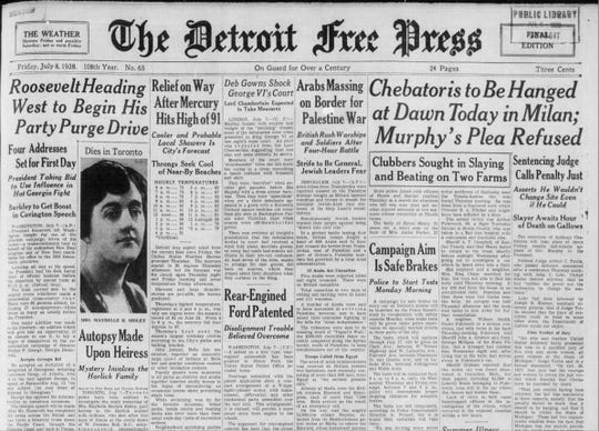An article from the Detroit Free Press on July 8, 1958