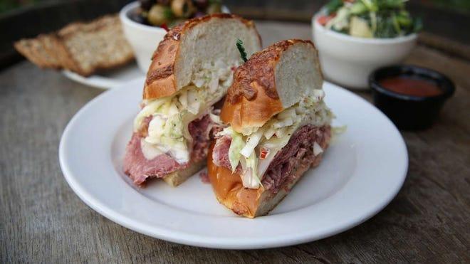 Mudgie's Brooklyn sandwich.