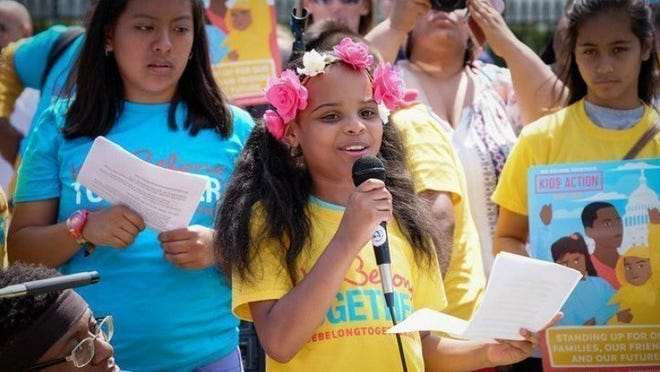"""MariCopeny, who has become known as """"Little Miss Flint"""" and is an advocate for Flint children, is calling on presidential candidates to commit to speaking to America's youth."""