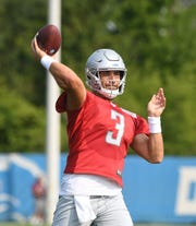 Quarterback Tom Savage should receive some snaps in the Lions' exhibition opener against the Patriots on Thursday night at Ford Field.