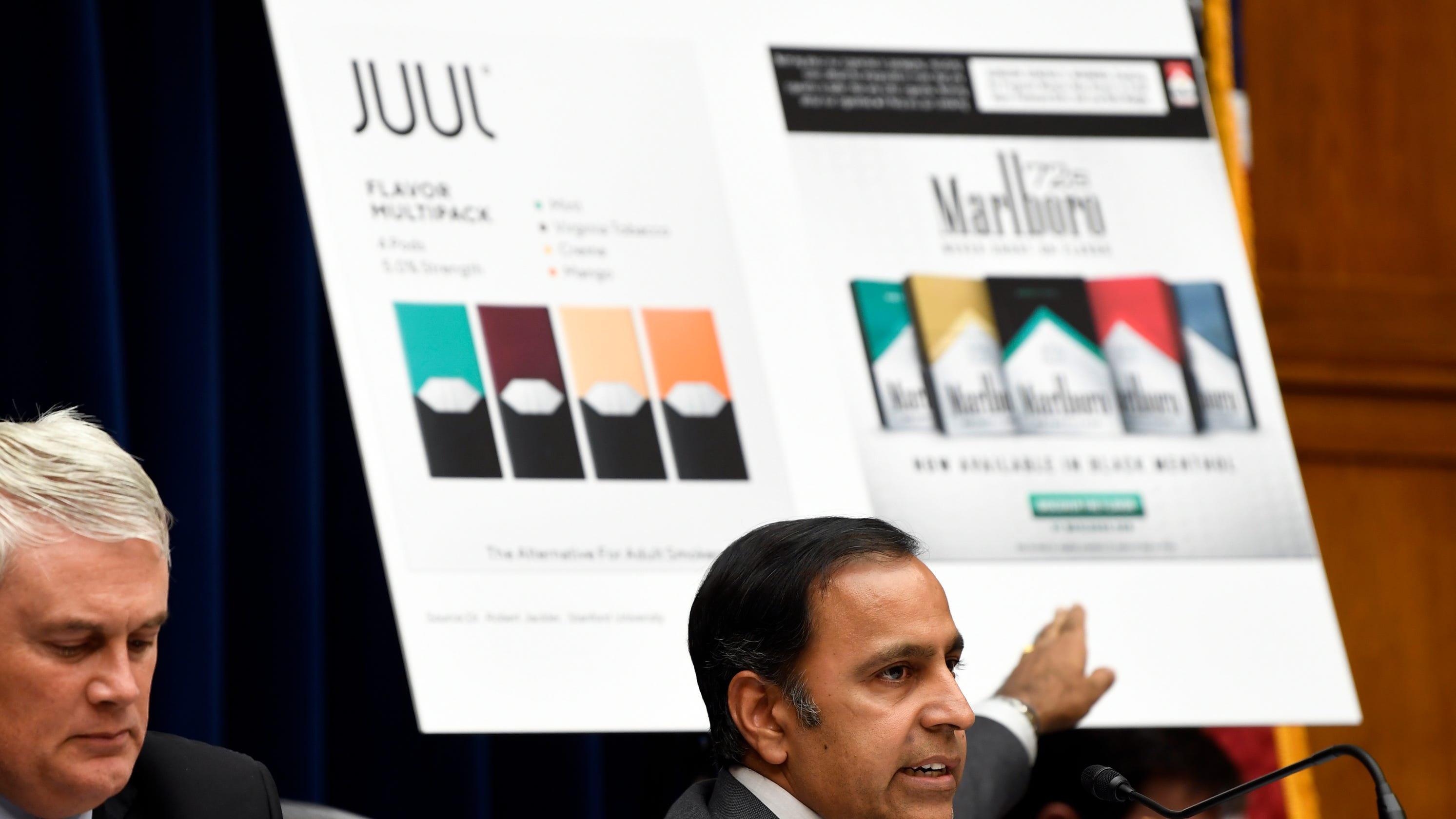 Juul exec: Never intended electronic cigarette for teens