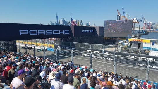 Porsche will enter Formula E racing in 2020. They were a major sponsor of the 2019 race in Brooklyn.