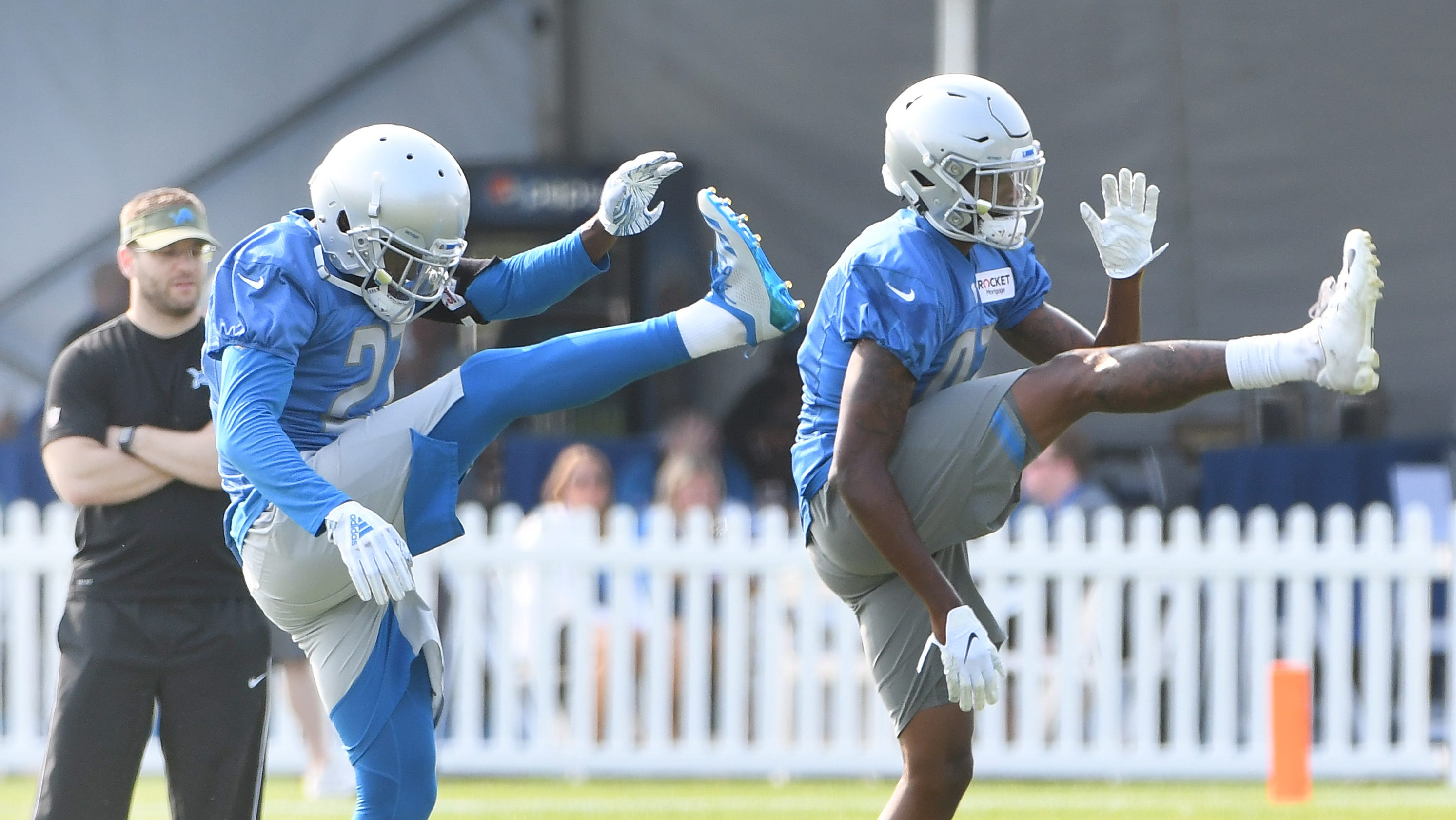 6132c3fb Five Detroit Lions to watch in joint practices with New England Patriots