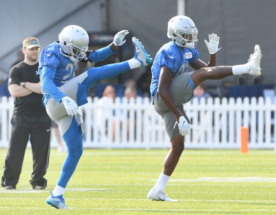 Lions defensive backs Justin Coleman and Tracy Walker will both get a good test by going up against the Tom Brady-led Patriots offense at joint practices this week.