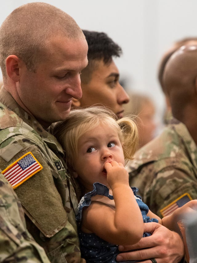 150+ Kentucky National Guard soldiers deploying to Middle East