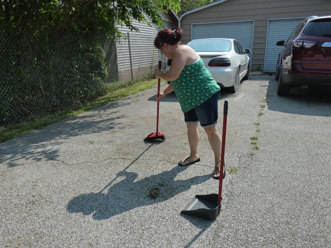 Kathy Pridemore, a Rodriguez Street residentm said she would be interested in sewer lines being installed along the street as residents' septic systems have been failing.