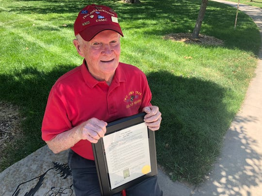 "John ""Jack"" Thurman, a World War II veteran, will be honored with a dedicated day in his name July 27."