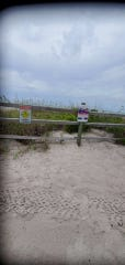 Nearly two weeks after a man saved his daughter in the surf off North Captiva Island only to fall victim to a rip current himself, new signs are now warning potential beachgoers about the hazards of strong currents.