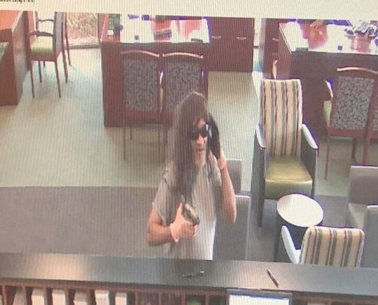 Surveillance photo from TD Bank Robbery in Anderson.