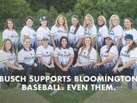 Bloomington women's softball team wins Busch sponsorship; are announced as 'dudes'