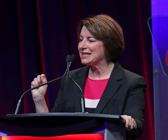 "Sen. Amy Klobuchar of Minnesota says the Democratic Party needs a ""big tent,"" including on abortion views."