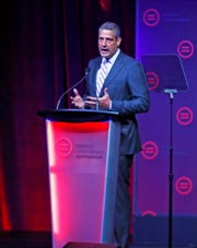 Presidential hopeful Rep. Tim Ryan speaks before the National Urban League Conference at the Indiana Convention Center on Thursday, July 24, 2019.