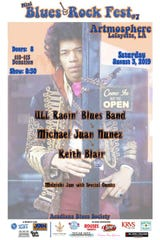 7th Annual Mini Blues & Rock Festival poster