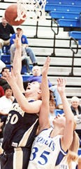 Powers averaged double figures for the Lady Gales' basketball team.