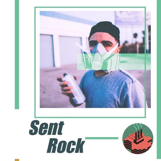 "Joseph Perez, aka ""Sent Rock,"" is an artist from Chicago who is expected to participate in Lansing's Below the Stacks festival in September."