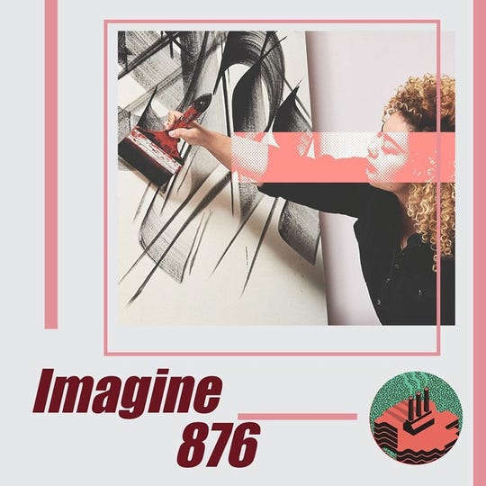 "Sneha Shrestha, aka ""Imagine 876,"" is from Boston. She's one of several artists expected to create murals at Lansing's Below the Stacks festival in September."