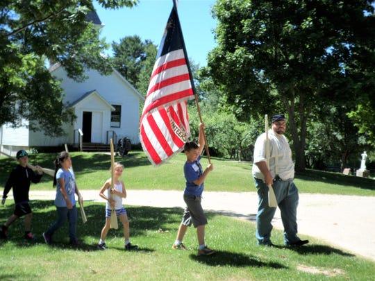 Manitowoc County Historical Society will be holding a Civil War homeschool program.