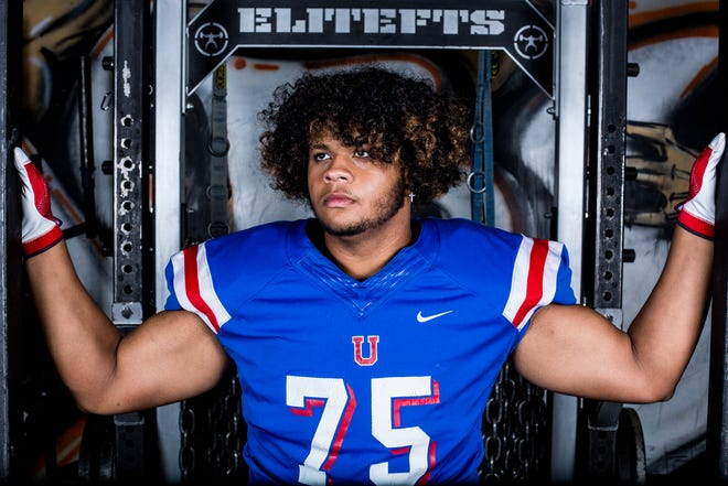 MUS lineman Marcus Henderson says he has lost 45 pounds since the end of last season.