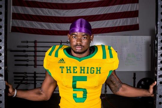 Central receiver Darin Turner grew up admiring NFL Pro Bowl receiver Calvin Johnson.