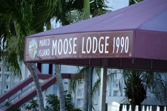 The Marco Island Moose Lodge held a private town hall meeting Wednesday evening to deal with the possible loss of their lodge headquarters due to lack of funds.