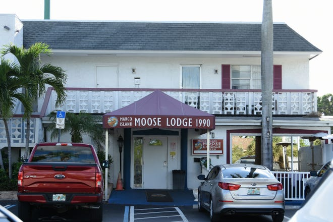 The Moose Lodge on Marco Lake Drive used to house the Marco Polo restaurant. The Marco Island Moose Lodge held a private town hall meeting Wednesday evening to deal with the possible loss of their lodge headquarters due to lack of funds.