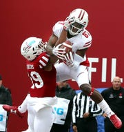 Quintez Cephus was the Badgers top receiver as a sophomore.