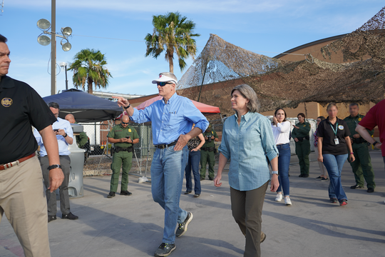 U.S. Sen. Bill Cassidy, R-La., traveled to McAllen, Texas, this week to assess the humanitarian crisis on the southern border.