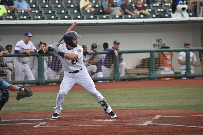 Lake Erie outfielder Zach Racusin of Mendham is in the top five in Frontier League batting.