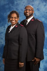 Lieutenants Tonya and Bryan Farrington are officers in the Salvation Army corps for Montgomery.