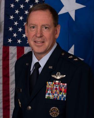 Air Force Maj. Gen. James B. Hecker
