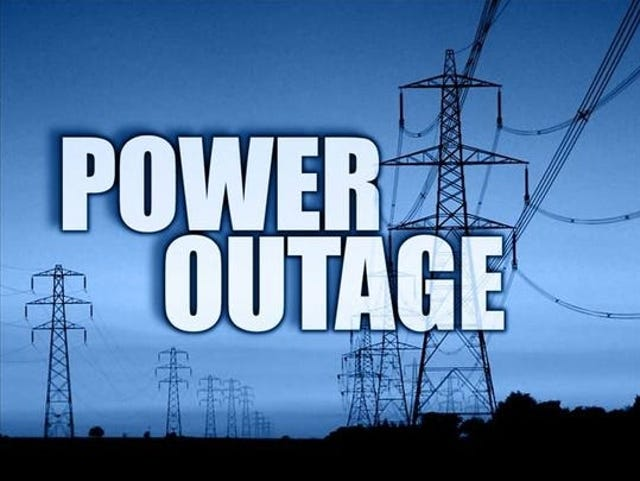 Power outage following traffic accident affects NW Delaware
