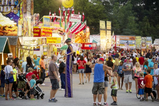 Tennessee county fairs: Williamson, Wilson, Robertson, Cheatham