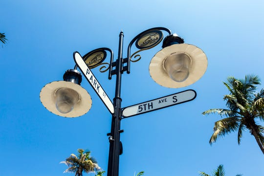 Fifth Avenue South has been Naples' historic main street since 1923.