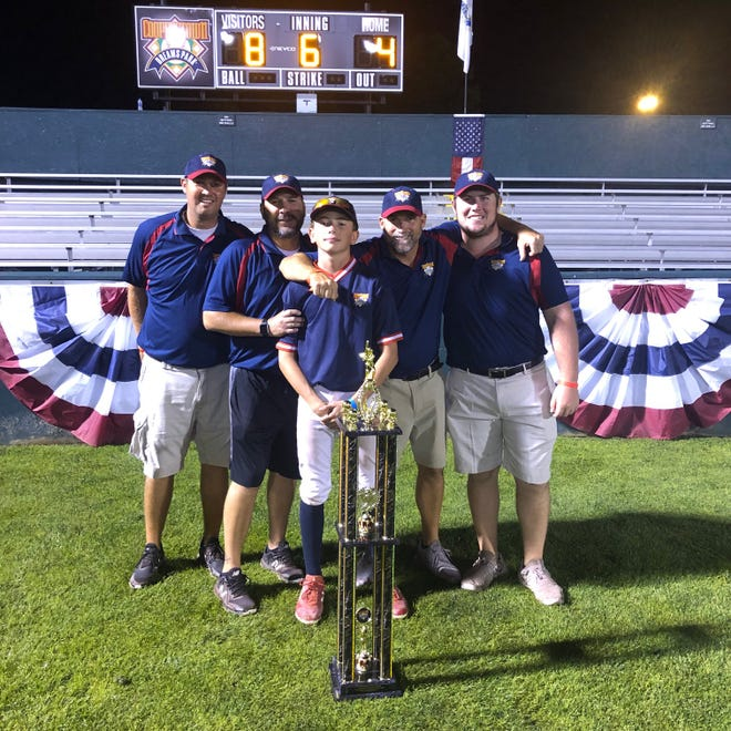 Zion Theophilus was the winning pitcher for the 12U Cincinnati Flames in the tournament final at Cooperstown's Dreams Park.