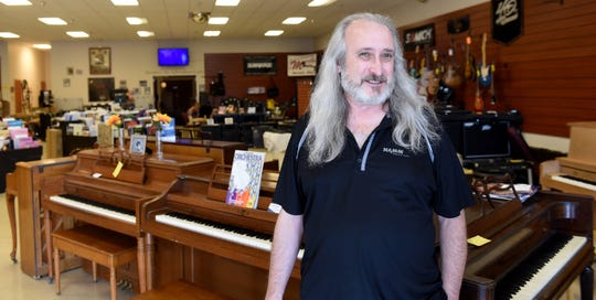 Doug Baker, president and CEO of Martin Music, talks about the store's history. The 71-year-old business is supposed to close its doors July 31.