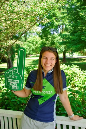 Granville High School graduate Charlotte Mattimoe will ride in her first Pelotonia this year in honor of her mother, Betsy, who was diagnosed with cancer in March.