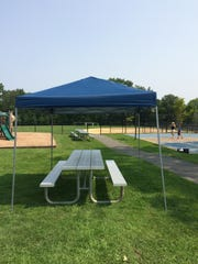 Need shelter for an event? A canopy can be borrowed from the Library of the Chathams.