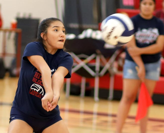 Senior Krista Jimenez returns to the Lady 'Cats back row as a defensive specialist.