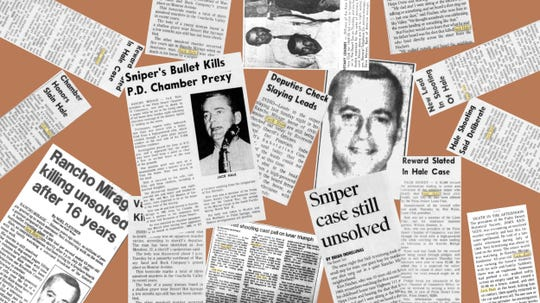 Articles in The Desert Sun have examined the bizarre slaying of Jack Hale the night of Sunday, July 20, 1969.