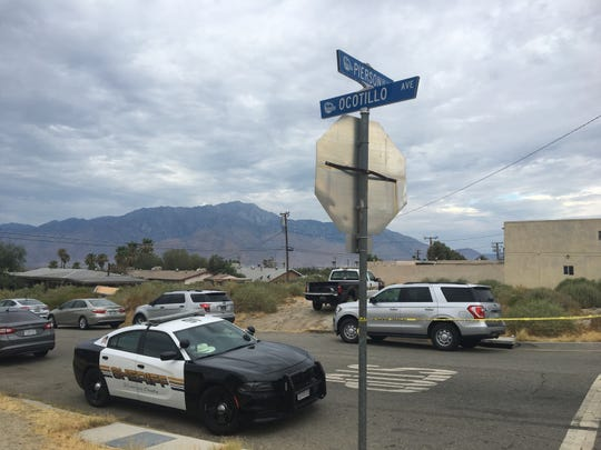 Ocotillo Avenue at Pierson Boulevard in Desert Hot Springs Thursday, July 25, 2019, was near an officer-involved shooting, which happened at Ocotillo and Acoma avenues.