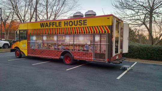 The Waffle House Food Truck is coming to downtown Pensacola outside Perfect Plain on Friday through Sunday.