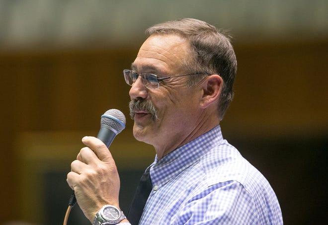 Arizona Rep. Mark Finchem, R-Oro Valley, is criticizing Loews hotels for canceling Sen. Josh Hawley's reservation.