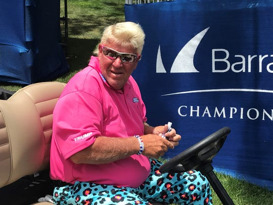 John Daly finished with minus-2 points after Thursday's first round of the Barracuda Championship at Montreux.